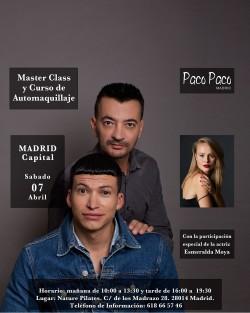 Curso de Automaquillaje y Master Class Madrid